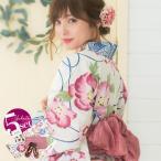 浴衣 レディース セット 京都本格 女性浴衣4点フルセ