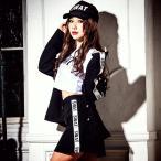ポリス 警察 コスプレ  ハロウィンcostume【コスチューム】 ポリス 3点セット/全1色(BL) 警官 制服 特殊部隊