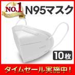 マスク 10枚 使い捨て KN95 N95 メルトブローン 男女兼用 ウィルス対策 ウイルス 花粉 飛沫感染対策 日本国内発送