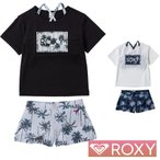 ROXY ロキシー 子供 水着 女の子 セパレート タンキニ 子供水着 2点セット キッズ ジュニア MINI PALM SHADOW TSW201102