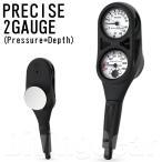 AQUA LUNG(アクアラング) PRECISE 2 GAUGE プレシス2ゲージ(残圧計+水深計)