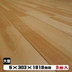 フローリング リフォームフロア 6KM 捨貼 6mm厚 約1.5坪(B品床材/1ケース25kg)2ケース以上は更に値引