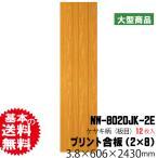 天井・壁用プリント合板 ネオウッド NW-8020JK-2E(約48kg/12枚入り)(B品)