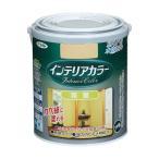 アサヒペン 水性インテリアカラー 和室 浅黄色 1.6L