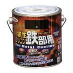 アサヒペン 油性 シリコン鉄部用 黒 0.7L