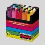 三菱鉛筆 ポスカ PC-8K 15色 黒赤青緑黄桃水色白黄緑紫うす橙山吹橙茶灰  PC8K15C