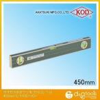 アカツキ/KOD 大型気泡付きアルミレベルアルミ水平器 450mm L-150D-VQ 0
