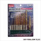GREATTOOL 鉄工用チタンドリル&ステップドリル HSS鋼チタンコーティング GTHS-11 11pcs