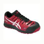 アシックス ウィンジョブ CP103 作業用靴 レッド×ホワイト 29cm FCP103.2301 29.0 1