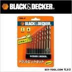 ブラック&デッカー 6角軸タイプドリルビット10本セット 15060 1