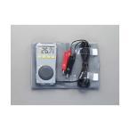 エスコ -50〜100℃[2点計測]デジタル温度計 EA701BB-1 0
