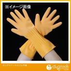 エスコ ロングラテックスゴム手袋 EA354DC-10 0