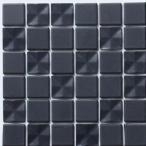 藤垣窯業 D.I.Yタイル クロスシャイン/がっちりシール ブラック 縦150x横150x(タイル:6粒x6粒) CRS-30 0