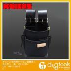 ニックス チェーン式特殊ナイロン製腰袋 黒 200×330×125 KB-211NS-DX