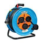 日動工業 電工ドラム 防雨防塵型三相200V 3.5sq電線アース付 30m  ×1台   DNWE330F20A