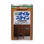 ニッペホーム オイルステイン 油性合成樹脂塗料  ウォルナツト 4L
