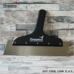 フェザンツール 壁紙の施工道具minamoto源ステンレス地ベラ ブラック 10寸0.6mm厚 KTN004