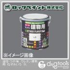 ロックペイント 油性・つや有 ウレタン建物用塗料 ねずみいろ 3L H06-1601