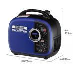 ヤマハ 1.6kVA 防音型ポータブル インバーター発電機 ※EF1600is同等品   EF16HiS