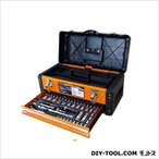 TRAD 引き出し付ツールボックス ソケットセット 2段/工具箱  TSS-56