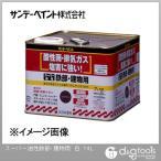 サンデーペイント スーパー油性鉄部・建物用(変性アルキッド系合成樹脂塗料) 白 14L
