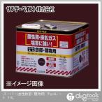 サンデーペイント スーパー油性鉄部・建物用 変性アルキッド系合成樹脂塗料  チョコレート 14L