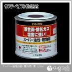 サンデーペイント スーパー油性鉄部・建物用(変性アルキッド系合成樹脂塗料) 黒 1/5L(約200ml)