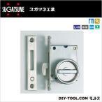 スガツネ(LAMP) ステンレス鋼製引戸掘込カマ錠 HC-30H 0