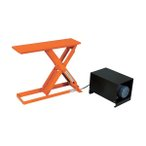 TRUSCO スリムリフト350kg電動油圧式800X250   HLE-35-2508