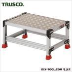 トラスコ アルミ合金製作業台 縞鋼板  600×400×300 TSFC-163