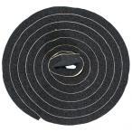 槌屋 すき間防水テープ ブラック 幅30mm?高さ10mm?長さ2m SBE-006