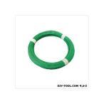 フジテック ビニールカラー針金 #141kg巻 緑 61073