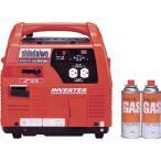 新ダイワ ポータブルインバーター発電機 (カセットガスボンベ式)   IEG900BG