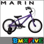 BMX専門店 MARIN(マリン) DONKY Jr/マットパープル 16インチ/子供用自転車 完成車発送