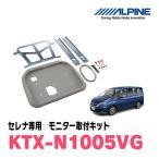 セレナ(C27系)用 ALPINE/KTX-N1005VG 12.8型リアビジョン用パーフェクトフィット 正規販売店・デイパークス