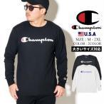 チャンピオン Tシャツ メンズ 長袖 ブランドロゴプリント 日本未発売 USサイズ 大きいサイズ Champion T2229P USAモデル アメリカ直輸入 クリスマス