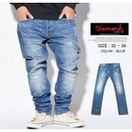 Diamond Supply Co ダイヤモンドサプライ ジーンズ スキニーフィット メンズ デニムパンツ A16DBA11 スケーター ストリート系 ファッション