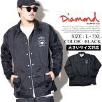 コーチジャケット メンズ Diamond Supply Co ダイヤモンドサプライ ナイロン Worship Coaches Jacket D16DMPK18 スケーター ストリート系 ファッション