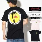Diamond Supply Co Tシャツ メンズ 半袖 おしゃれ ブランド 大きいサイズ パームツリー プリント B17DMPA11