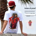 Tシャツ メンズ 半袖 プリント 女神 マリア 大きいサイズ b系 ヒップホップ ストリート系 DOP クリスマス