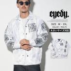 コーチジャケット メンズ EYEDY アイディー コーチジャケット EYE-JKT1605 アメカジ カジュアル ストリート B系ファッション