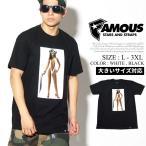フェイマス Tシャツ メンズ 半袖 FAMOUS FM02170010 大きいサイズ 夏 サマー