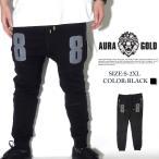 スウェットパンツ メンズ ジョガーパンツ AURA GOLD FF36007 B系 ストリート系 BIG SEAN ビッグショーン ブランド