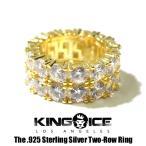 指輪 メンズ ブランド ゴールド 14k KINGICE キングア
