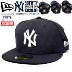 ニューエラ キャップ メンズ ベースボールキャップ NEWERA 59FIFTY MLB ニューヨーク・ヤンキース NY