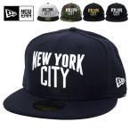 ニューエラ キャップ メンズ ベースボールキャップ NEWERA 59FIFTY NEW YORK CITY 2017 春夏 新作