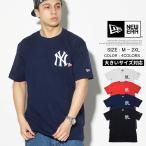 ニューエラ Tシャツ メンズ 半袖 NEWERA Cotton Tee MLB ニューヨーク・ヤンキース Yankees Heart