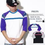 PREPS プレップス Tシャツ 5分袖 メンズ B系 ファッション ストリート系
