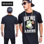 2XLサイズ Reason Clothing リーズン 半袖 Tシャツ RE25-98017 大きいサイズ B系 ストリート系 ファッション