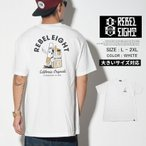 REBEL8 レベルエイト Tシャツ 半袖 Die Slow White Tee 416A0114 メンズ B系 ストリート系 ファッション